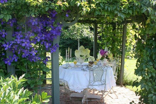 idee jardin romantique - le spécialiste de la décoration extérieur