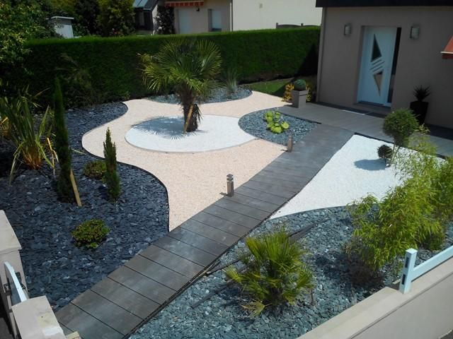 idee jardin sans gazon le sp cialiste de la d coration. Black Bedroom Furniture Sets. Home Design Ideas