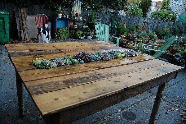 idee jardin table