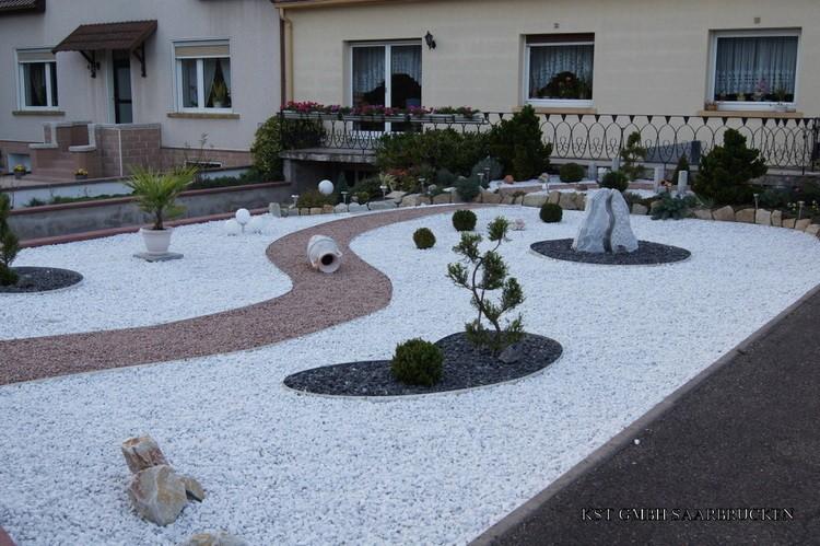 Amenagement Jardin Avec Gravier GMX77 - Napanonprofits