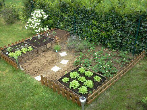 amenagement jardin familial