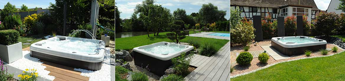 amenagement jardin jacuzzi
