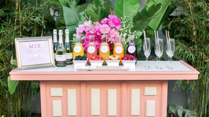 decoration exterieur vin d'honneur