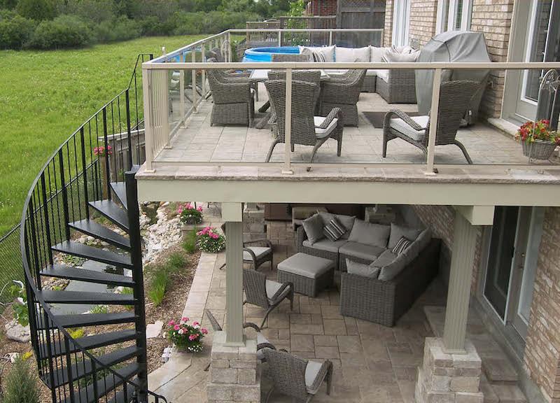 decoration terrasse en hauteur