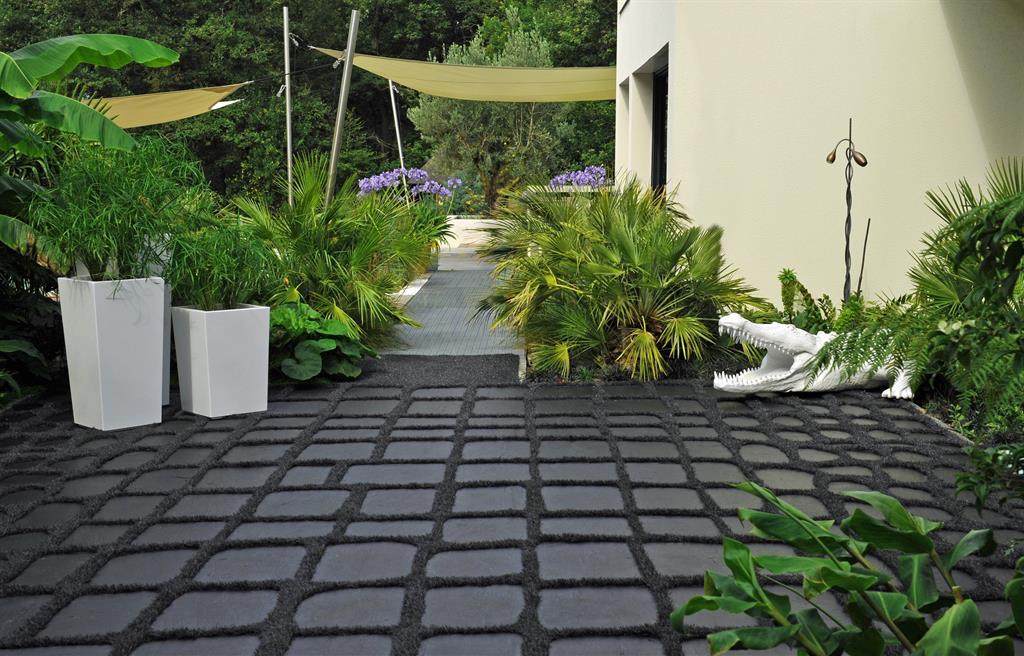 decoration terrasse jungle