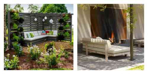 idee jardin avec palette - le spécialiste de la décoration extérieur